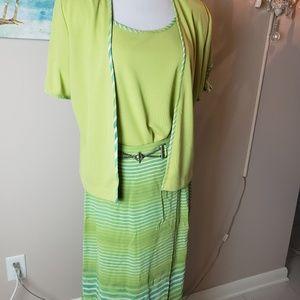 Summer dress suit